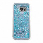 Glitter Skal till Samsung Galaxy S7  -  Blå