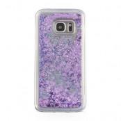 Glitter Skal till Samsung Galaxy S7  -  Lila