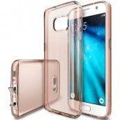 Ringke Weightless as Air Skal till Samsung Galaxy S7 - Rose Gold