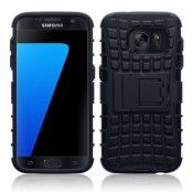 Rugged MobilSkal till Samsung Galaxy S7 - Svart