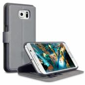 Slim Plånboksfodral till Samsung Galaxy S7 - Grå
