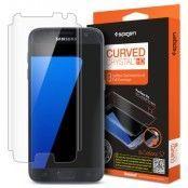 Spigen Curved Crystal Skärmskydd till Samsung Galaxy S7