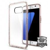 SPIGEN Ultra Hybrid Skal till Samsung Galaxy S7 - Rose Crystal