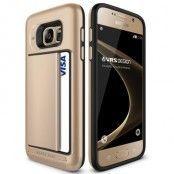 Verus Damda Clip Skal till Samsung Galaxy S7 - Gold