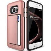Verus Damda Clip Skal till Samsung Galaxy S7 - Rose Gold