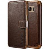 Verus Dandy Layered Plånboksfodral till Samsung Galaxy S7 - Brun
