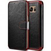 Verus Dandy Layered Plånboksfodral till Samsung Galaxy S7 - Svart