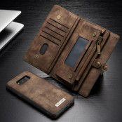 Caseme Retro Plånboksfodral Samsung Galaxy S8 Plus - Brun