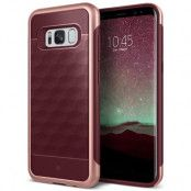 Caseology Parallax Skal till Samsung Galaxy S8 Plus - Burgundy