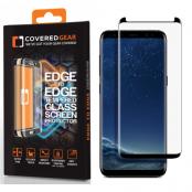 CoveredGear Edge to Edge härdat glas till Samsung Galaxy S8 Plus - Svart