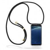 CoveredGear Necklace Case Samsung Galaxy S8 Plus - Black Cord