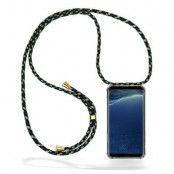 CoveredGear Necklace Case Samsung Galaxy S8 Plus - Green Camo Cord