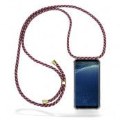 CoveredGear Necklace Case Samsung Galaxy S8 Plus - Red Camo Cord