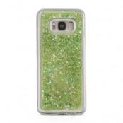 Glitter Skal till Samsung Galaxy S8 Plus -  Grön