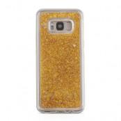 Glitter Skal till Samsung Galaxy S8 Plus -  Guld