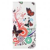 Plånboksfodral Samsung Galaxy S8 Plus - Three Butterflies