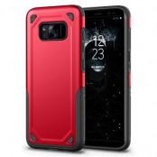 Rugged Armor Skal till Samsung Galaxy S8 Plus - Röd