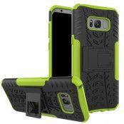 Rugged Mobilskal till Samsung Galaxy S8 Plus - Grön