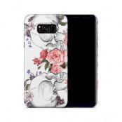 Skal till Samsung Galaxy S8 Plus - Dödskallar rosor