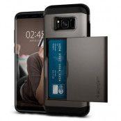 SPIGEN Slim Armor CS Skal till Samsung Galaxy S8 Plus - Gunmetal