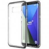 Verus Crystal Bumper Skal till Samsung Galaxy S8 Plus - Dark Silver