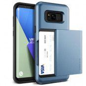 Verus Damda Glide Card Slot Skal till Samsung Galaxy S8 Plus - Blå