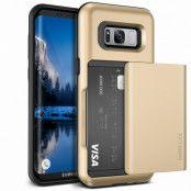 Verus Damda Glide Card Slot Skal till Samsung Galaxy S8 Plus - Gold
