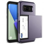 Verus Damda Glide Card Slot Skal till Samsung Galaxy S8 Plus - Orchid Grey