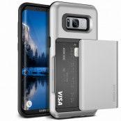 Verus Damda Glide Card Slot Skal till Samsung Galaxy S8 Plus - Silver