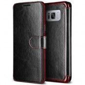 Verus Dandy Layered Plånboksfodral till Samsung Galaxy S8 Plus - Svart
