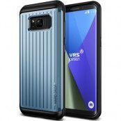Verus Waved Hard Drop Skal till Samsung Galaxy S8 Plus - Blå