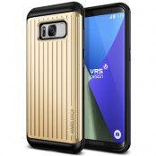 Verus Waved Hard Drop Skal till Samsung Galaxy S8 Plus - Gold