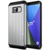 Verus Waved Hard Drop Skal till Samsung Galaxy S8 Plus - Silver
