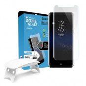 WhiteStone Dome Glass Skärmskydd till Samsung Galaxy S8 Plus