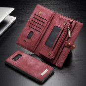 Caseme Retro Plånboksfodral Samsung Galaxy S8 - Röd