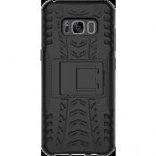 Deltaco Dazzler Skal med Stativ för Samsung Galaxy S8 - Svart