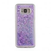 Glitter Skal till Samsung Galaxy S8 -  Lila