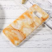 Patterned Mobilskal Samsung Galaxy S8 - Orange Marble