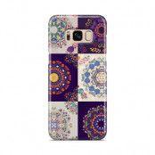 Skal till Samsung Galaxy S8 - Blommigt lapptäcke