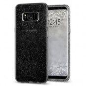 SPIGEN Liquid Crystal Glitter Skal till Samsung Galaxy S8 - Grå