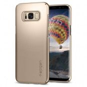 SPIGEN Thin Fit Skal till Samsung Galaxy S8 - Gold