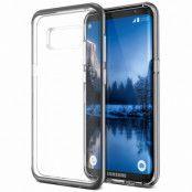 Verus Crystal Bumper Skal till Samsung Galaxy S8 - Dark Silver