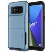 Verus Damda Folder Card Slot Skal till Samsung Galaxy S8 - Blå