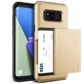 Verus Damda Glide Card Slot Skal till Samsung Galaxy S8 - Gold