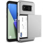 Verus Damda Glide Card Slot Skal till Samsung Galaxy S8 - Silver