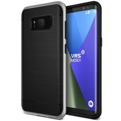 Verus High Pro Shield Skal till Samsung Galaxy S8 - Silver