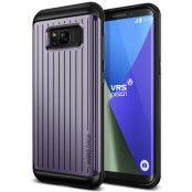Verus Waved Hard Drop Skal till Samsung Galaxy S8 - Orchid Grey