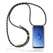 CoveredGear Necklace Case Samsung Galaxy S9 Plus - Green Camo Cord