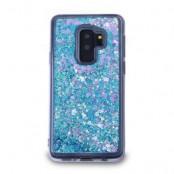 Glitter Skal till Samsung Galaxy S9 Plus - Blå