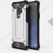 Hybrid Armor Mobilskal Samsung Galaxy S9 Plus - Silver